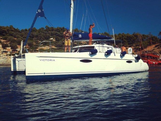 Experience Kanistro, Chalkidiki on board this elegant sailboat