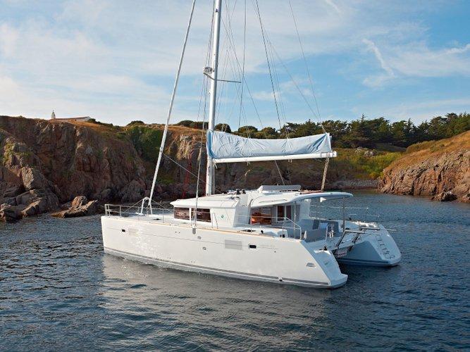 Rent this Lagoon Lagoon 450  Flybridge for a true nautical adventure