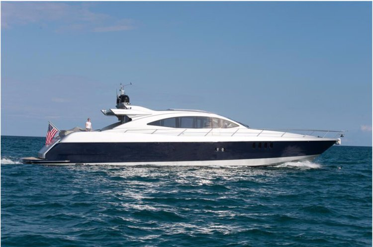 Set your dreams in motion in New York aboard this 88 ft Super Yacht