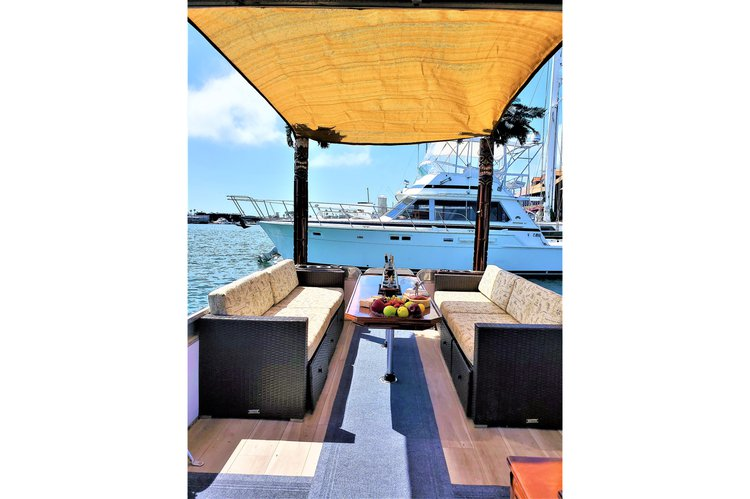Boating is fun with a Pontoon in Newport Beach