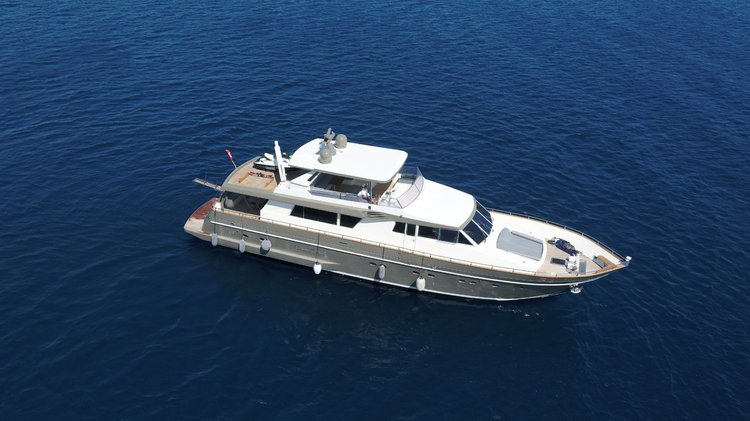 Boating is fun with a Motor yacht in Bodrum