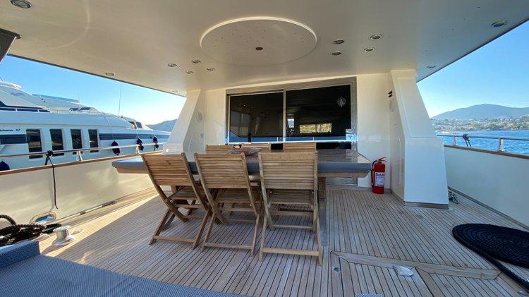 Boat for rent Sanlorenzo 82.0 feet in Bodrum, Turkey