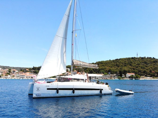 Discover Rogoznica in style boating on this sailboat rental