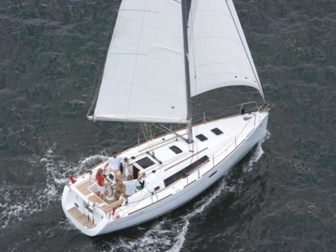 Take this awesome sailboat for a spin!