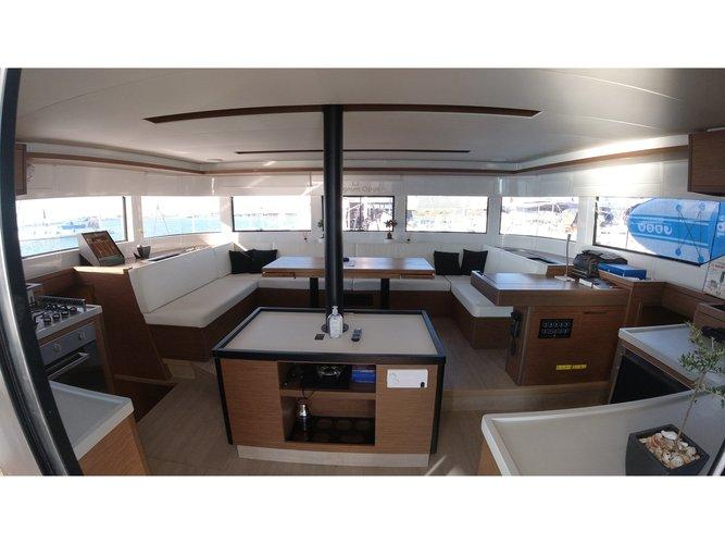 Experience Lefkada, GR on board this amazing Lagoon Lagoon 50