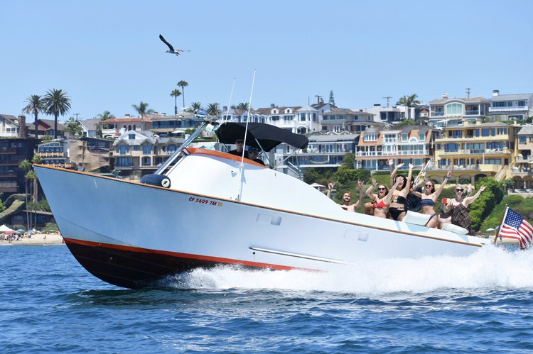 Motor yacht boat for rent in Newport Beach