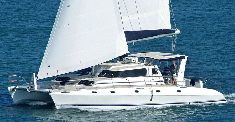 Set your dreams in motion in  New York aboard 50 ft catamaran
