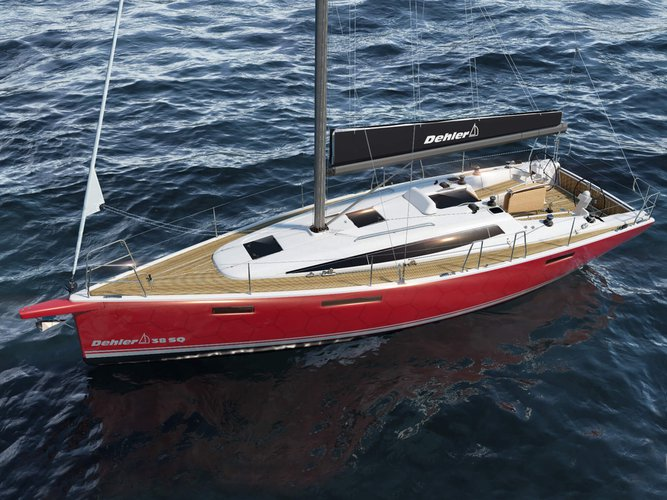 Beautiful Dehler Dehler 38SQ ideal for sailing and fun in the sun!