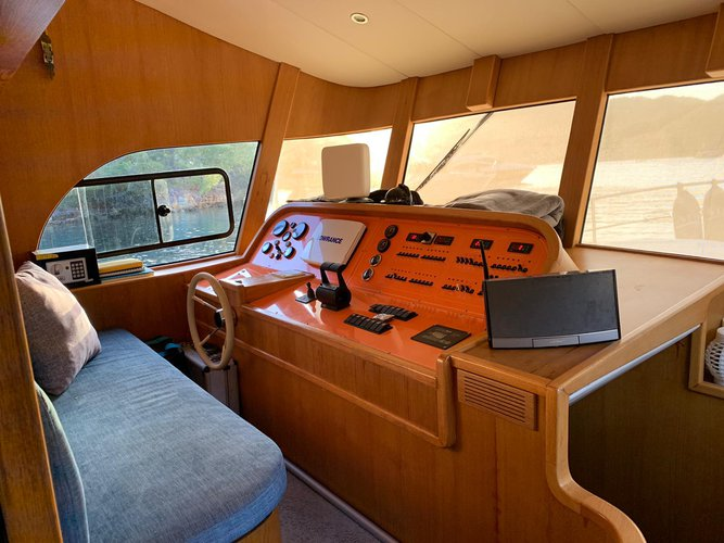 Trawler boat rental in D-Marin Göcek, Turkey