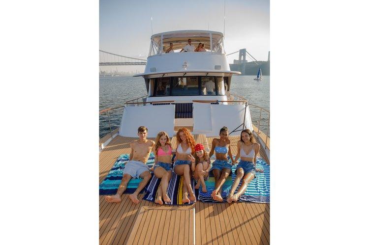 Mega yacht boat rental in Alpine Marina, NJ
