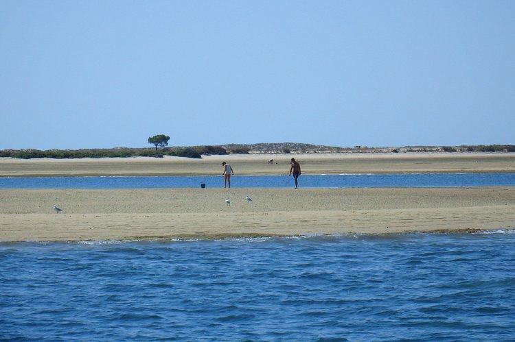Bow rider boat rental in Marina de Faro, Portugal