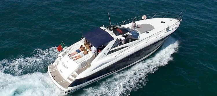 Boating is fun with a Sunseeker in Vilamoura