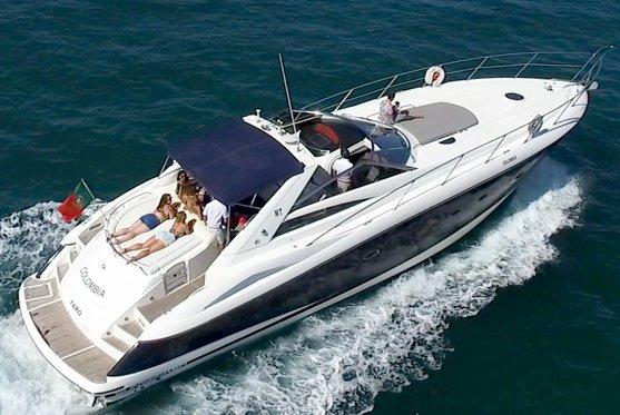 Sunseeker boat for rent in Vilamoura