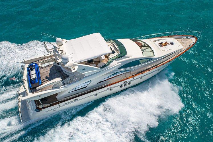 Luxury Italian Yacht with jet ski and slide !!!