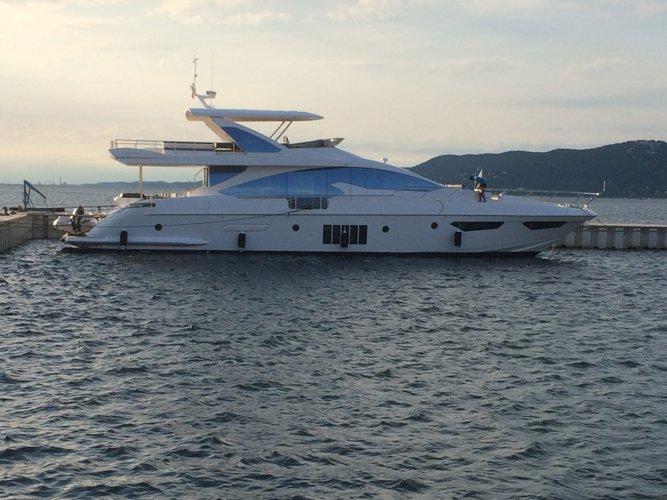 Unique experience on this beautiful Azimut Yachts Azimut 80