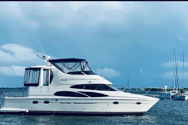 Motor yacht boat rental in Marina Jack, FL