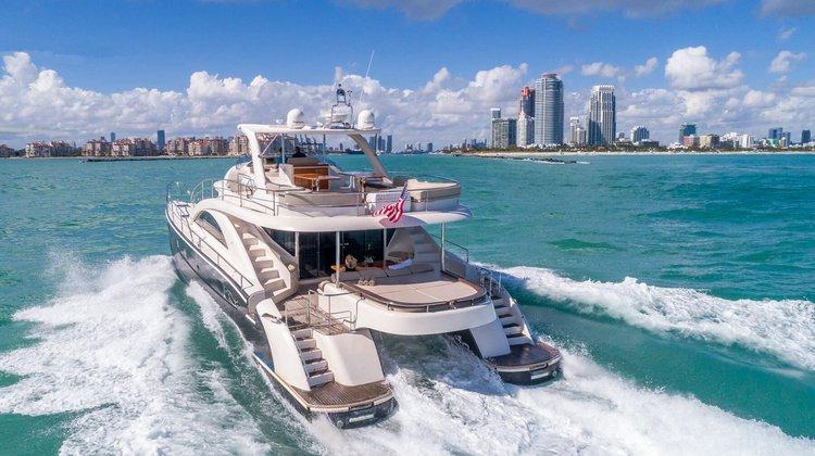Let's Go Big! Miami's Spacious 62' Cat