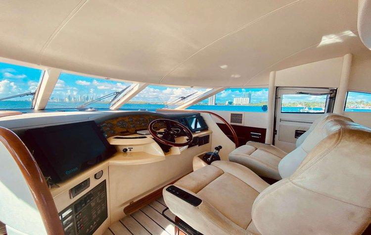 Boat for rent Fairline 64.0 feet in Harbor West Marina, FL