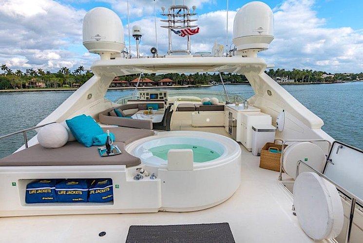 Motor yacht boat rental in Island Gardens Deep Harbour, FL