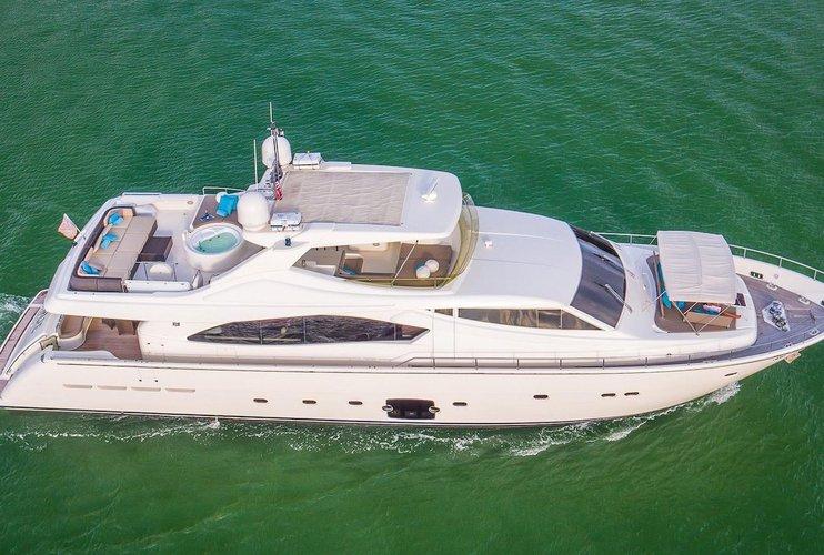88' Ferretti - Most Elegant Yacht For Term Charters