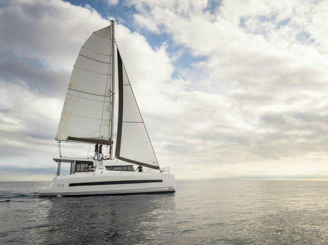 Sail Primošten, HR waters on a beautiful Bali Catamarans Bali 4.0