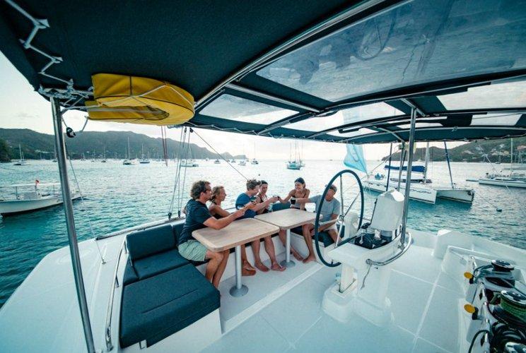 Charter this amazing  catamaran in Miami