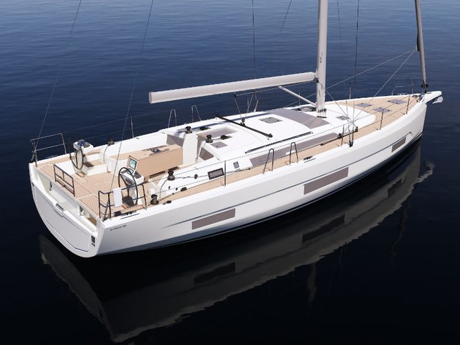 All you need to do is relax and have fun aboard the Dufour Yachts Dufour 470