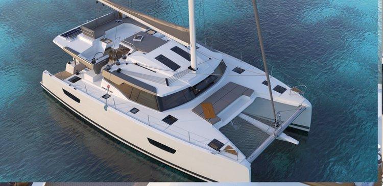 This 44.0' Elba cand take up to 12 passengers around Scrub Island