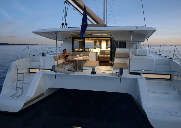 Have fun in sun in British Virgin Islands aboard Helia 44