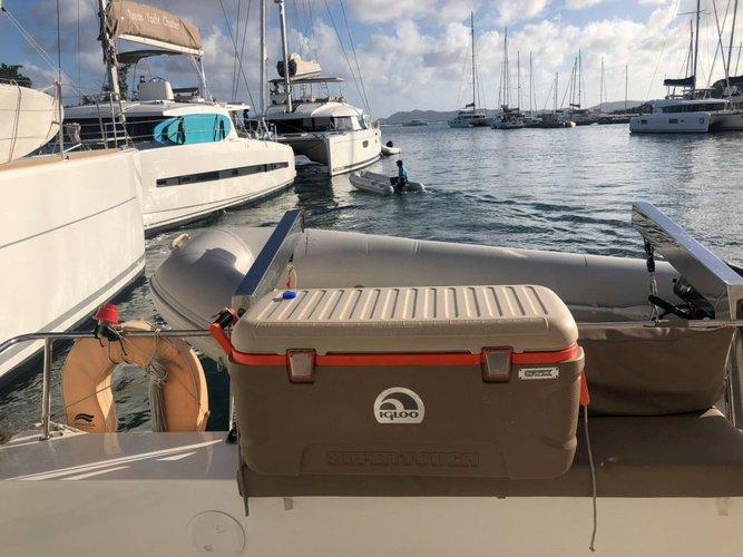 Catamaran boat rental in Scrub Island Resort Marina, British Virgin Islands