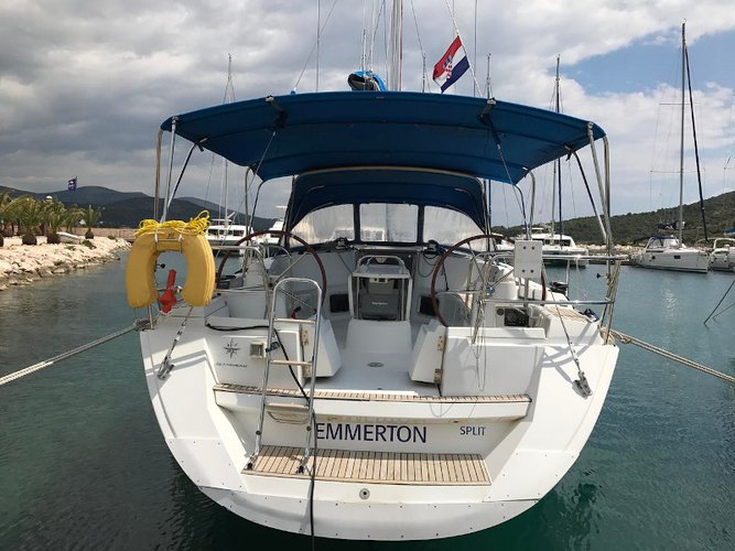 Enjoy luxury and comfort on this Novi Vinodolski sailboat charter
