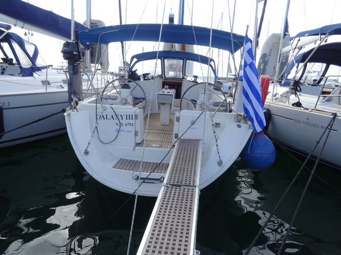 Rent this Jeanneau Sun Odyssey 45.2 for a true nautical adventure