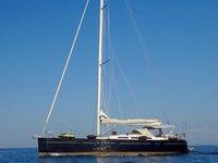 Experience Rogoznica on board this elegant sailboat