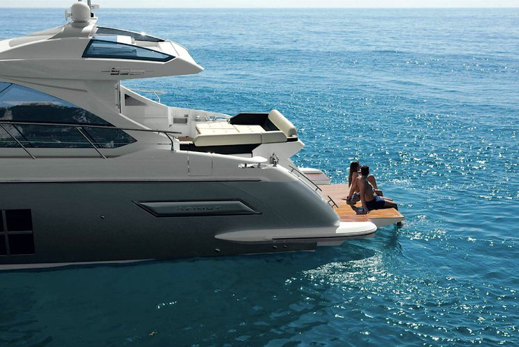 Motor yacht boat rental in Rickenbacker Marina, FL