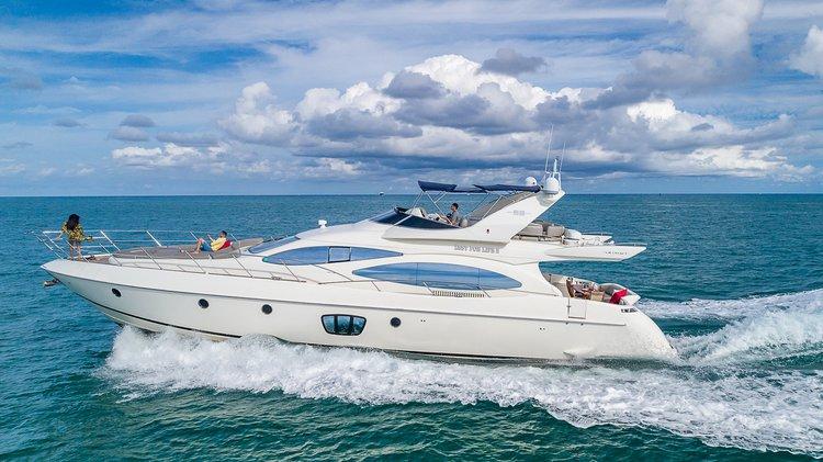The Best Yacht Rental in Miami Beach Marina