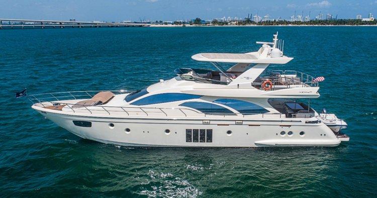 Boat for rent Azimut 78.0 feet in MBM - Miami Beach Marina, FL