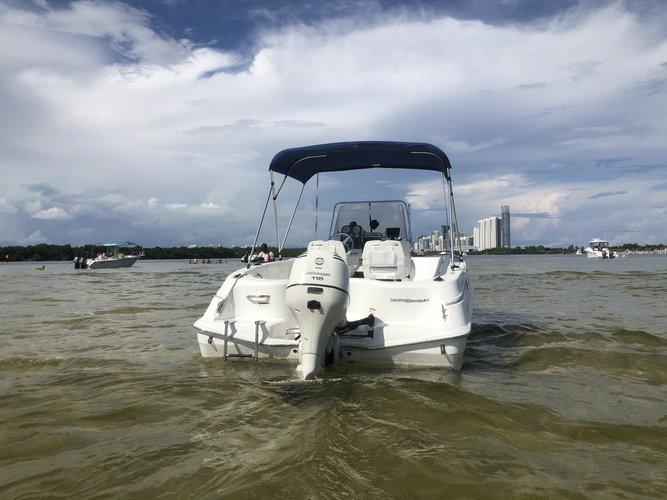 Center console boat for rent in Miami