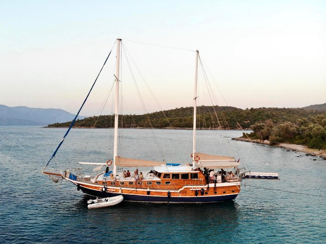 Jump aboard this beautiful  Gulet Techne