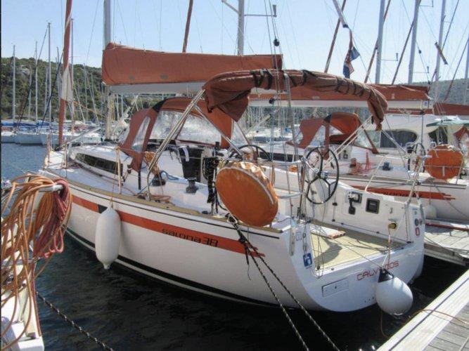 Experience Izola, SI on board this amazing AD Boats Salona 38