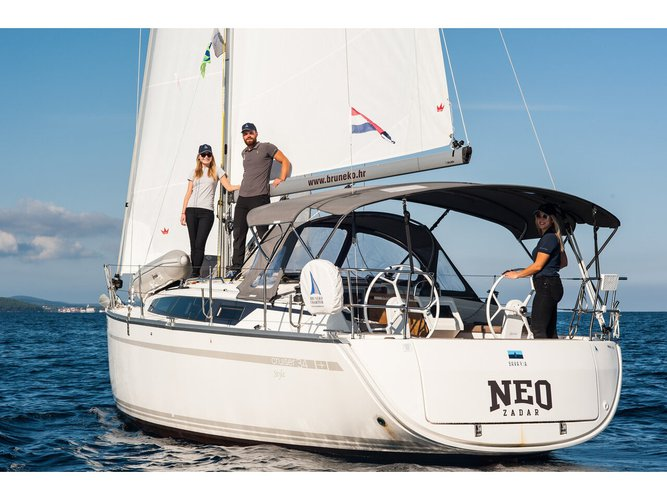Charter this amazing sailboat in Zadar