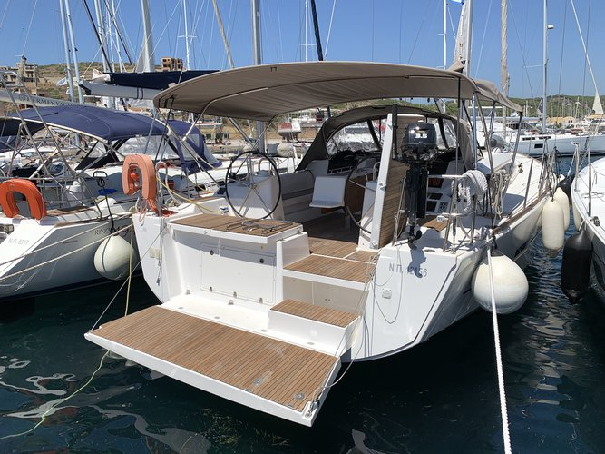 Enjoy Lavrion, GR to the fullest on our comfortable Dufour Yachts Dufour 460 Grand Large (5 cab)
