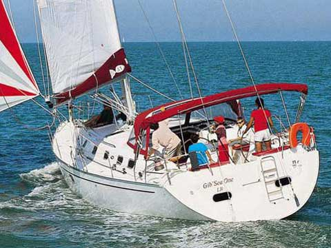 All you need to do is relax and have fun aboard the Dufour Yachts Gib Sea 51