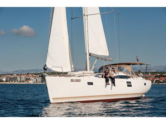 Experience Zadar on board this elegant sailboat