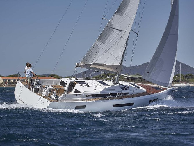 Hop aboard this amazing sailboat rental in Palamos!
