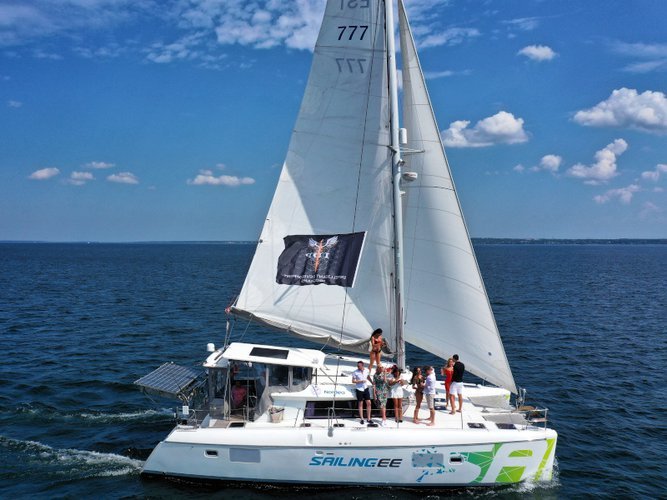Enjoy luxury and comfort on this Helsinki sailboat charter