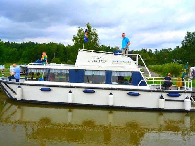Söderköping, SE cruising at its best
