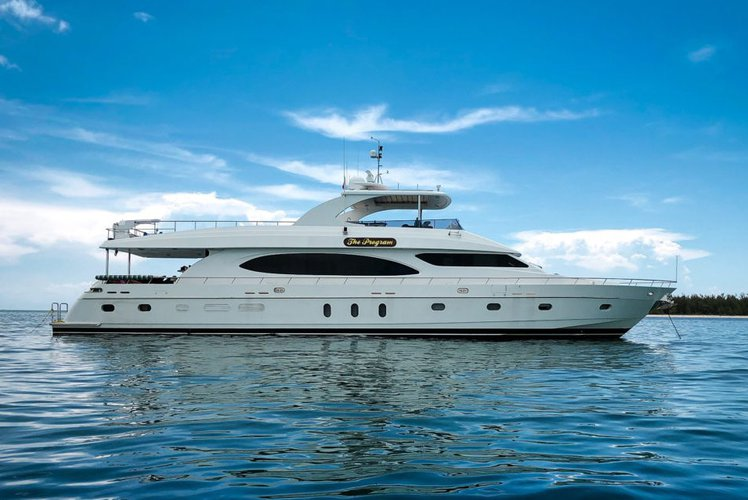 Boating is fun with a Mega yacht in Hollywood