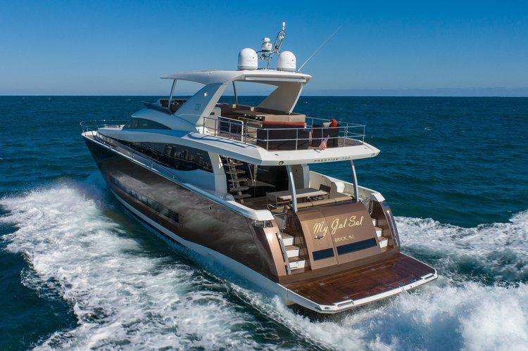 The Best Yacht Rental in Biscayne Bay - 75' Prestige