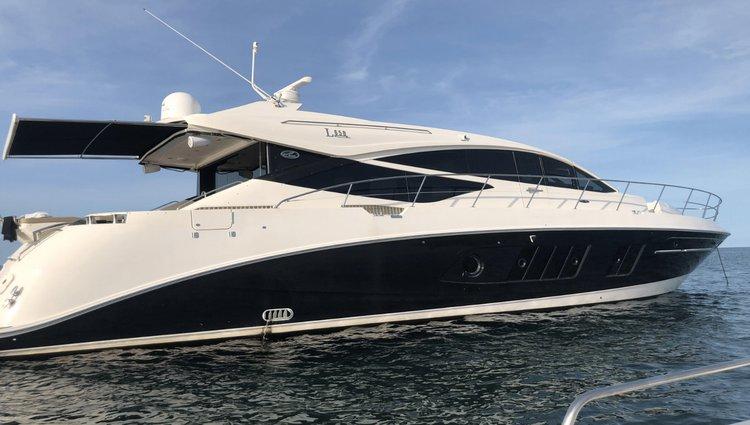Mega yacht boat rental in MBM - Miami Beach Marina, FL