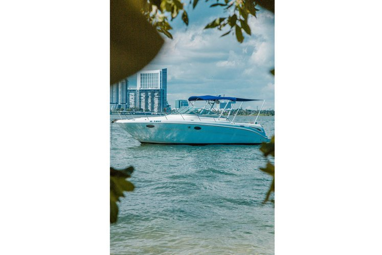 CRUISE MIAMI'S BEAUTIFUL WATERS ON THIS 30 FOOT SEA RAY BOAT! 🌞
